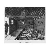 Album of the Isle of Pines, the Bar, Punishment of the Deportees, 1878-79 Giclee Print