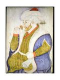 A Portrait of Sultan Mehmet II Giclee Print