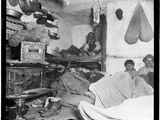 "Lodgers in a Crowded Bayard Street Tenement - ""Five Cents a Spot."" Photographic Print by Jacob August Riis"