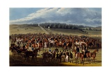 The Betting Post, Print Made by Charles Hunt, 1836 Giclee Print by James Pollard