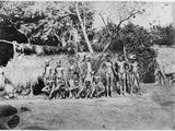 Kanaks, New Caledonia, C.1880 Photographic Print