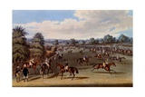 Preparing to Start, Print Made by Charles Hunt, 1836 Giclee Print by James Pollard