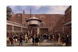 Settling Day at Tattersalls, Print Made by Charles Hunt, 1836 Giclee Print by James Pollard