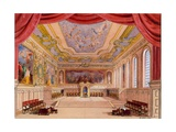 Set Design for 'The Merchant of Venice' by William Shakespeare, 1858 Giclee Print