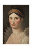 Portrait of Elisa Bonaparte Giclee Print by Francois Xavier Fabre