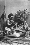 Kanaks, New Caledonia Photographic Print
