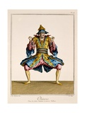 Chinois, from the 'Ballet Des Indes Galantes', Late 18th Century Giclee Print by Jean-Baptiste Martin