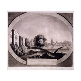 View at Chelsea, Print Made by F. Jukes, 1784 Giclee Print by William Beilby