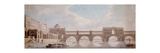 Proposed Design for a Bridge over the River Thames at Somerset House Giclee Print by Thomas Sandby