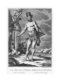 Man of New Caledonia Giclee Print by Teodoro Viero