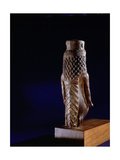Wooden Sculpture of Queen Tiye, Mother of Akhenaten, in the Form of Taweret, Protector of Women… Giclee Print