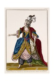 Costume of the Dame in 'L'Orphelin De La Chine', Print Made by Dupin, Late 18th Century Giclee Print by Pierre Thomas Le Clerc