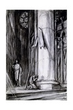 Rheims Cathedral, Scene from 'st Joan' by George Bernard Shaw, C.1924 Giclee Print by Charles Ricketts