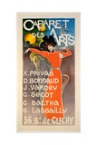 Poster for 'Cabaret Des Arts', C.1900 Giclee Print by Charles Lucas