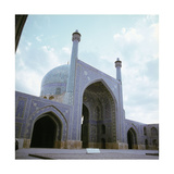 View of the Royal Mosque Masjid-I-Shah at Isfahan Giclee Print
