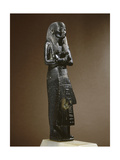 Funerary Statue of the Royal Scribe, General Kasa, Inscribed with the Text 'He Osirid Kasa,… Giclee Print