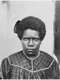 Woman from the Tribe of Houailou, New Caledonia, 1870 Photographic Print