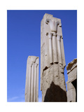 The Two Pillars Erected by Tuthmosis III Giclee Print