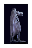 A Statuette of Taweret, Goddess of Fertility Who Assisted Mothers During Childbirth Giclee Print