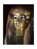 Mummy Mask of Tuya, Mother of Queen Tiye and Grandmother of Akhenaten Giclee Print