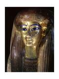 Mummy Mask of Tuya, Mother of Queen Tiye and Grandmother of Akhenaten Giclee Print