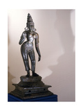 Statue of Parvati Identified by the Tall Conical Crown (Katakamundra), Reincarnation of Sati and… Giclee Print