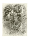 Rosalind Gicleetryck av Hopkins, Arthur