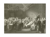 Death of the Earl of Chatham Giclee Print by John Singleton Copley