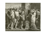 Pylades and Orestes Giclee Print by Benjamin West