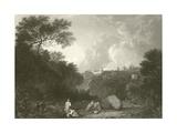 Maecenas Villa at Tivoli Giclee Print by Richard Wilson