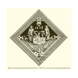 Coat-Of-Arms of the Grain-Measurers of Ghent Giclee Print