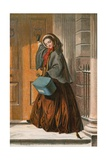 The Christmas Errand Giclee Print by Abraham Solomon