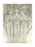 The Fairies Giclee Print by Frederick Hamilton Jackson