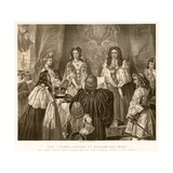 The Crown Offered to William and Mary Giclee Print