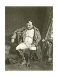 Abdication, Napoleon at Fontainbleau Giclee Print by Hippolyte Delaroche