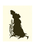 A Midsummer Night's Dream, Silhouette Giclee Print by Paul Konewka