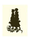 A Midsummer Night's Dream, Silhouette Giclee Print by Paul Konewka