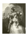 Indifference Giclee Print by Edward Henry Corbould