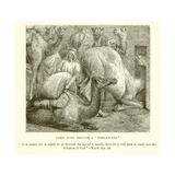 """Camel Going Through a """"Needle's Eye"""" Giclee Print"""