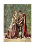 Kath. Dat Is as it Sall Please De Roi Mon Pere Giclee Print by Robert Dudley