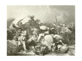 Battle of Bosworth Field Giclee Print by Philip James De Loutherbourg