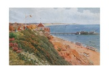 West Cliff, Bournemouth Giclee Print by Alfred Robert Quinton