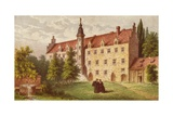 The Home of Martin Luther at Wittenberg Giclee Print by  English School