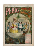 Front Cover of Pears Christmas Annual, 1892 Giclee Print by Charles Green