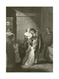 Lord William Russell's Last Interview with His Family Giclee Print by Robert Smirke