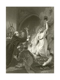 The Martyrdom of Archbishop Cranmer Giclee Print by Robert Smirke
