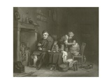 Saturday Night Giclee Print by Sir David Wilkie