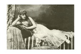 Miss Langtry as Cleopatra Giclee Print by  English Photographer