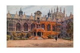 Oriel College, Oxford Giclee Print by Alfred Robert Quinton