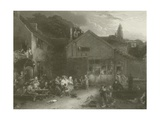 The Village Festival Giclee Print by Sir David Wilkie